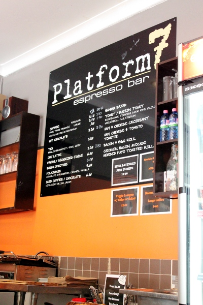 Platform 7 Cafe