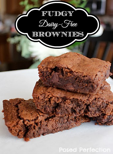 Delicious Fudgy Dairy-Free Brownies- Top 10 Recipes of 2014