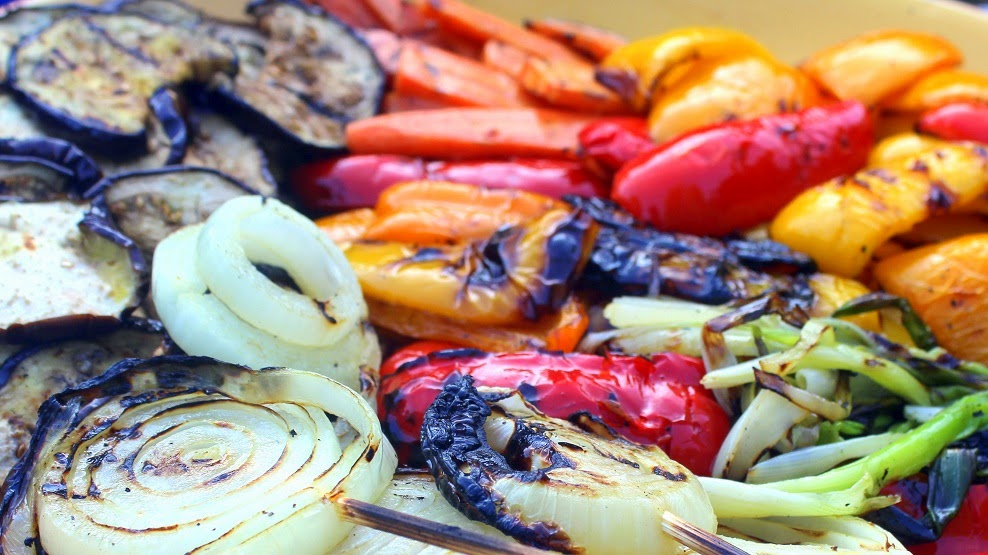 52 ways to cook farmer 39 s market grilled vegetables with a balsamic reduction 52 grilling time - Make perfect grilled vegetables ...