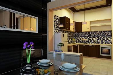 Jasa Gambar Desain Dapur Rumah Minimalis Modern dan Ruang Makan Mewah