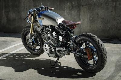 Custom Bikes - Custom Motorcycles - Eric Meglasson -Yamaha Motorcycle -Yamaha Virago XV750