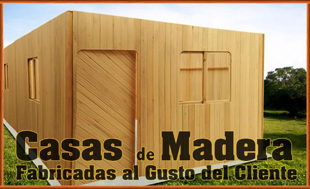 Casas pre fabricados inversiones espino for Casas de madera economicas