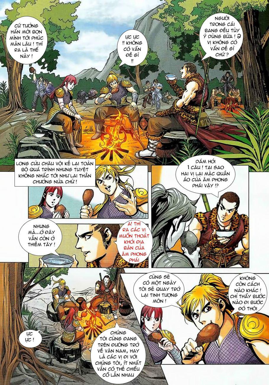 Thần Chưởng Long Cửu Châu chap 8 - Trang 22
