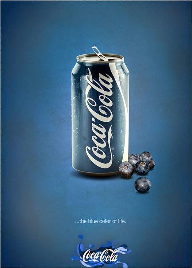 Coca-blue