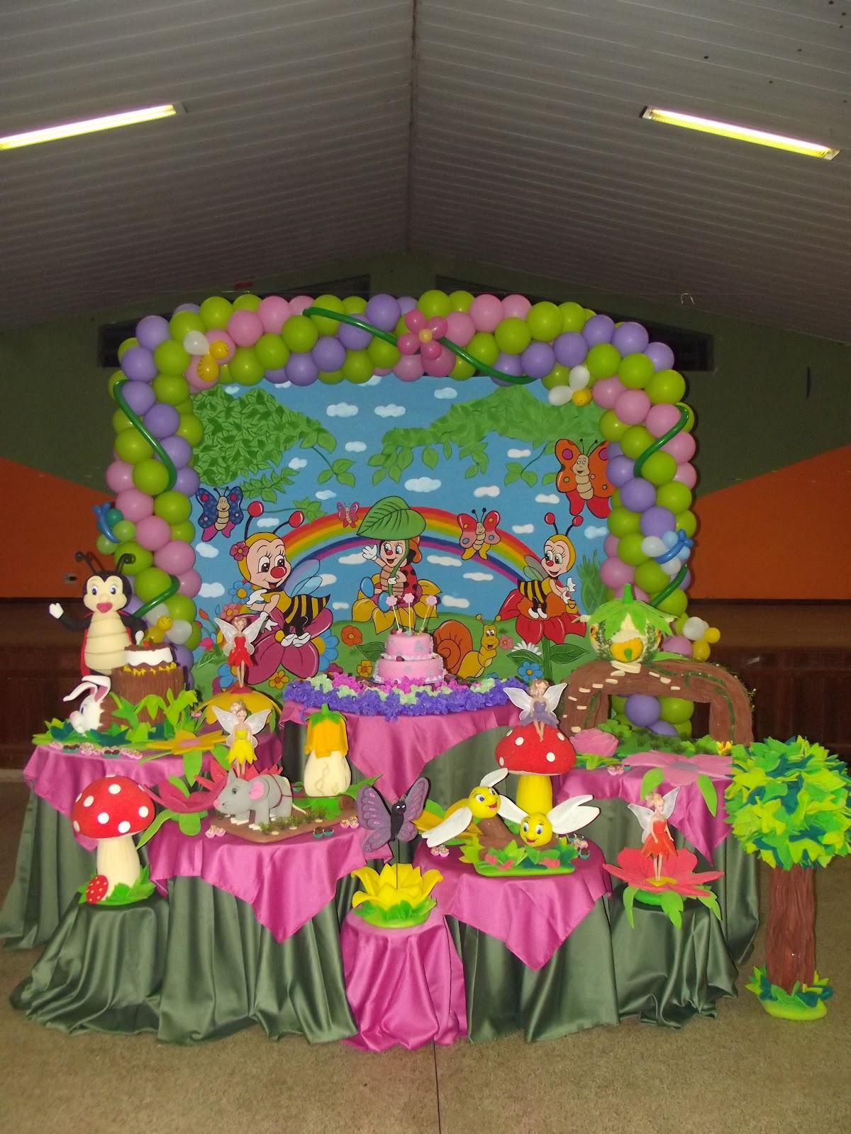 decoracao de aniversario tema jardim encantado: Festas e Decorações: DECORAÇÃO DE ANIVERSÁRIO DO JARDIM ENCANTADO
