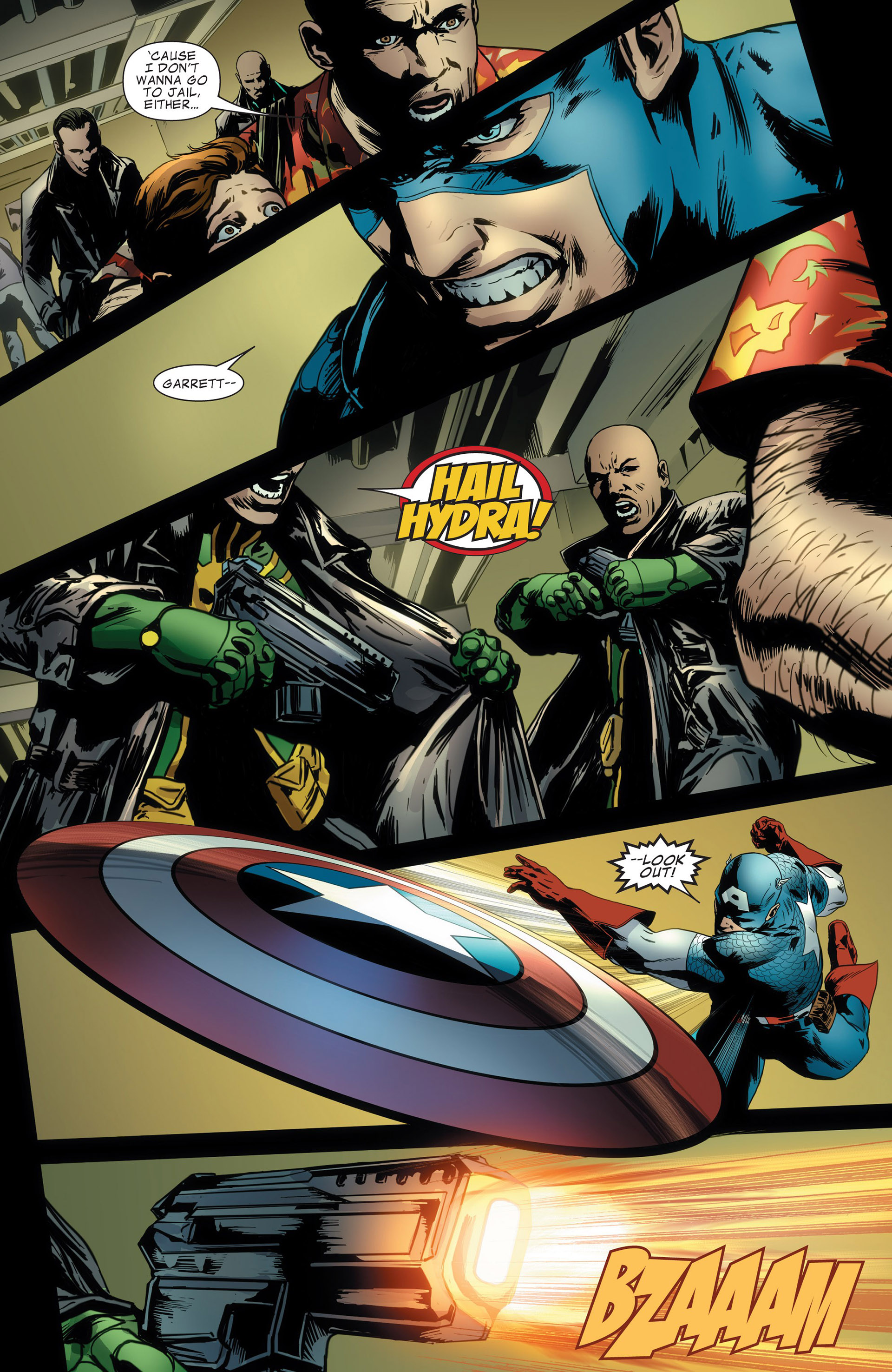 Captain America (2011) Issue #13 #13 - English 7