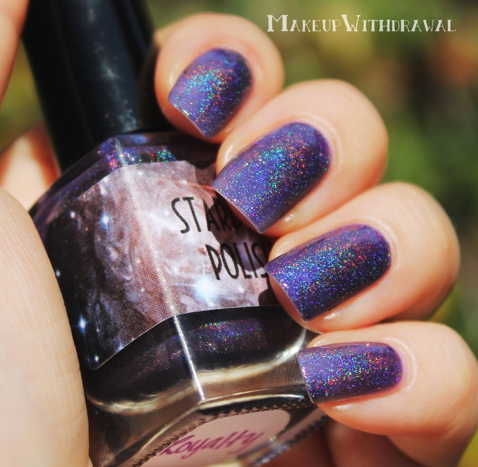 Star dust nail lacquer guerlain 25 - Royalty Is A Squishy Purple Jelly Holo Dark Grape Jelly One Of The Cooler Purple Holos That I Ve Seen The Formula Was Really Fluid But The Coloring Was