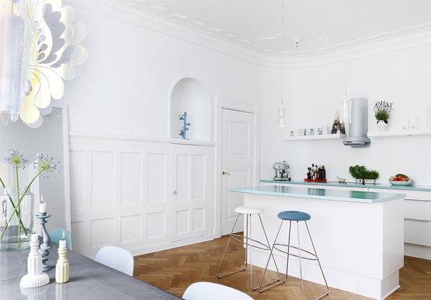 minimalist kitchen style