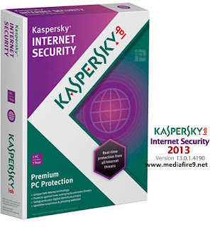 Kaspersky Internet Security 2013 13.0.1 + Crack  Mediafire Downloads | 164MB