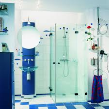 Small Blue Bathrooms Designs