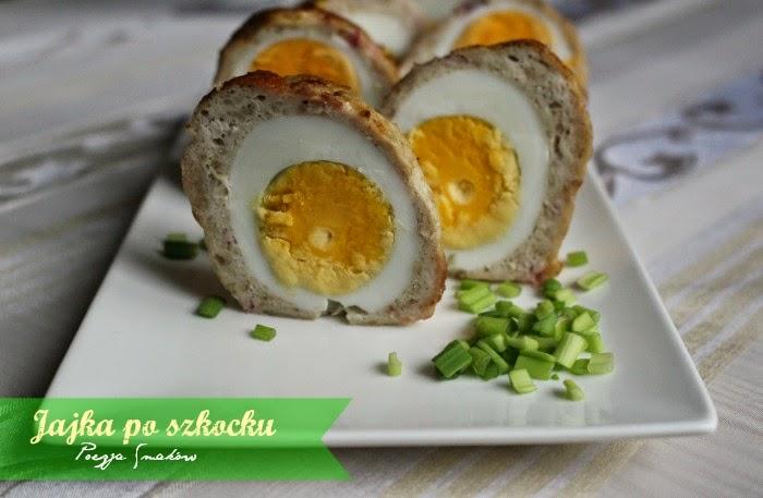 Jajka po szkocku ( drobiowe, pieczone w piekarniku).