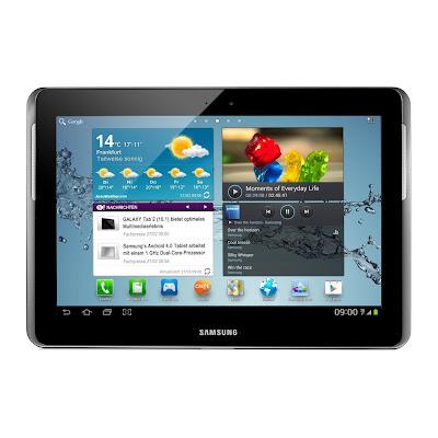 Samsung Tablet  (10.1 Zoll) Display, 1GHz Prozessor, 1GB RAM, 16 GB Speicher