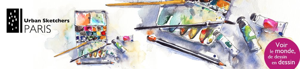 Urban Sketchers Paris