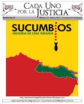 BOLETÍN CADA UNO POR LA JUSTICIA 31/ MARZO 2012