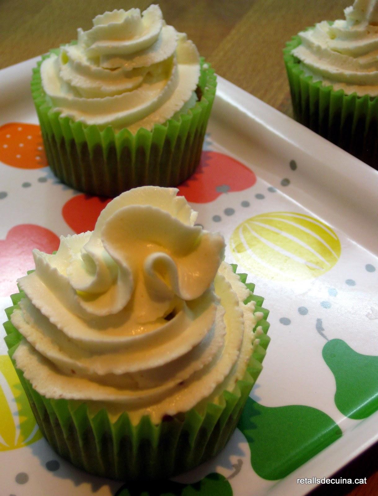 Cupcakes de carbassó