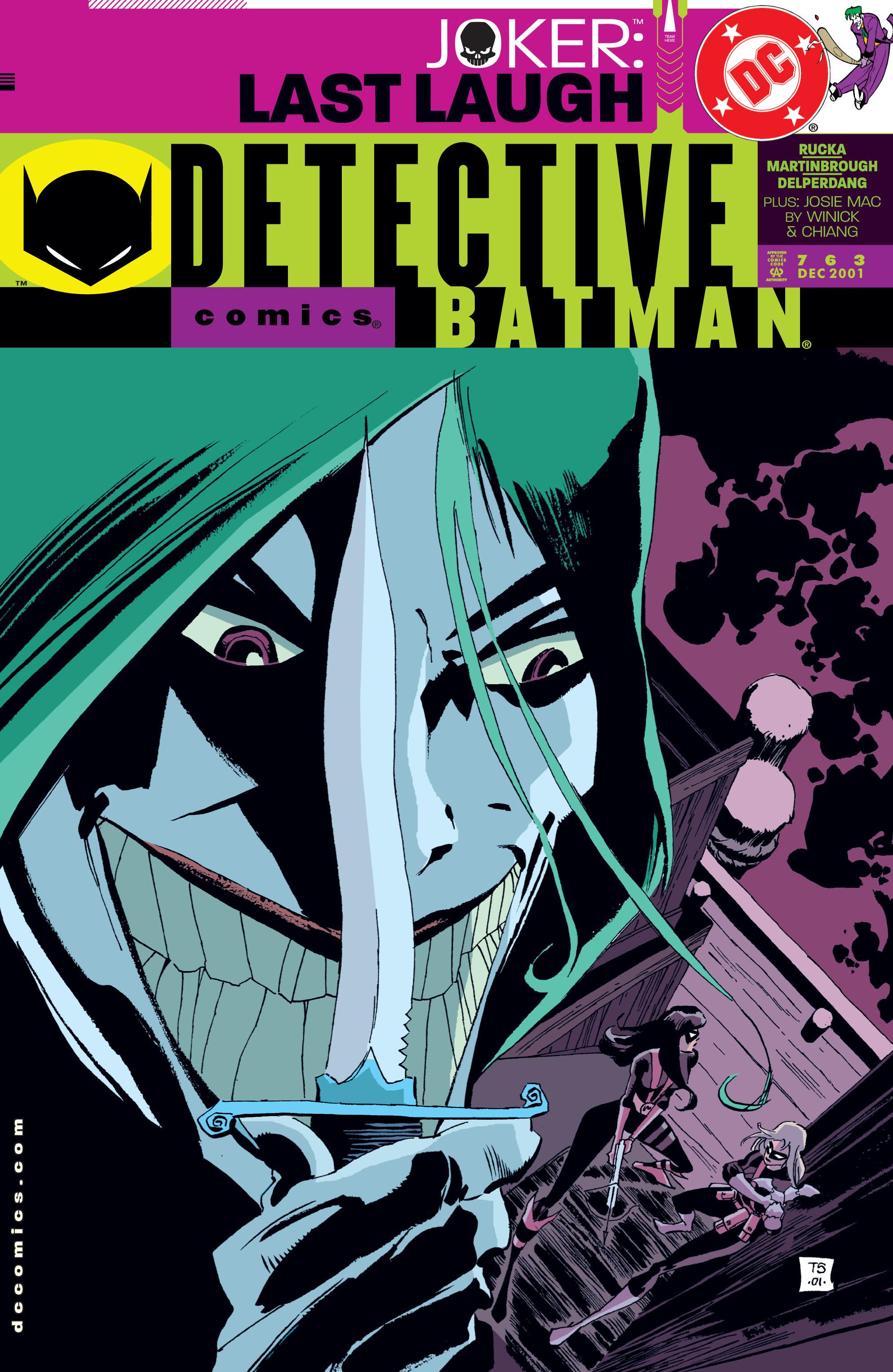 Detective Comics (1937) 763 Page 1