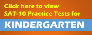 SAT Practice Tests for Kindergarten