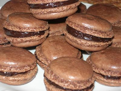 macaron chocolat fait-maison