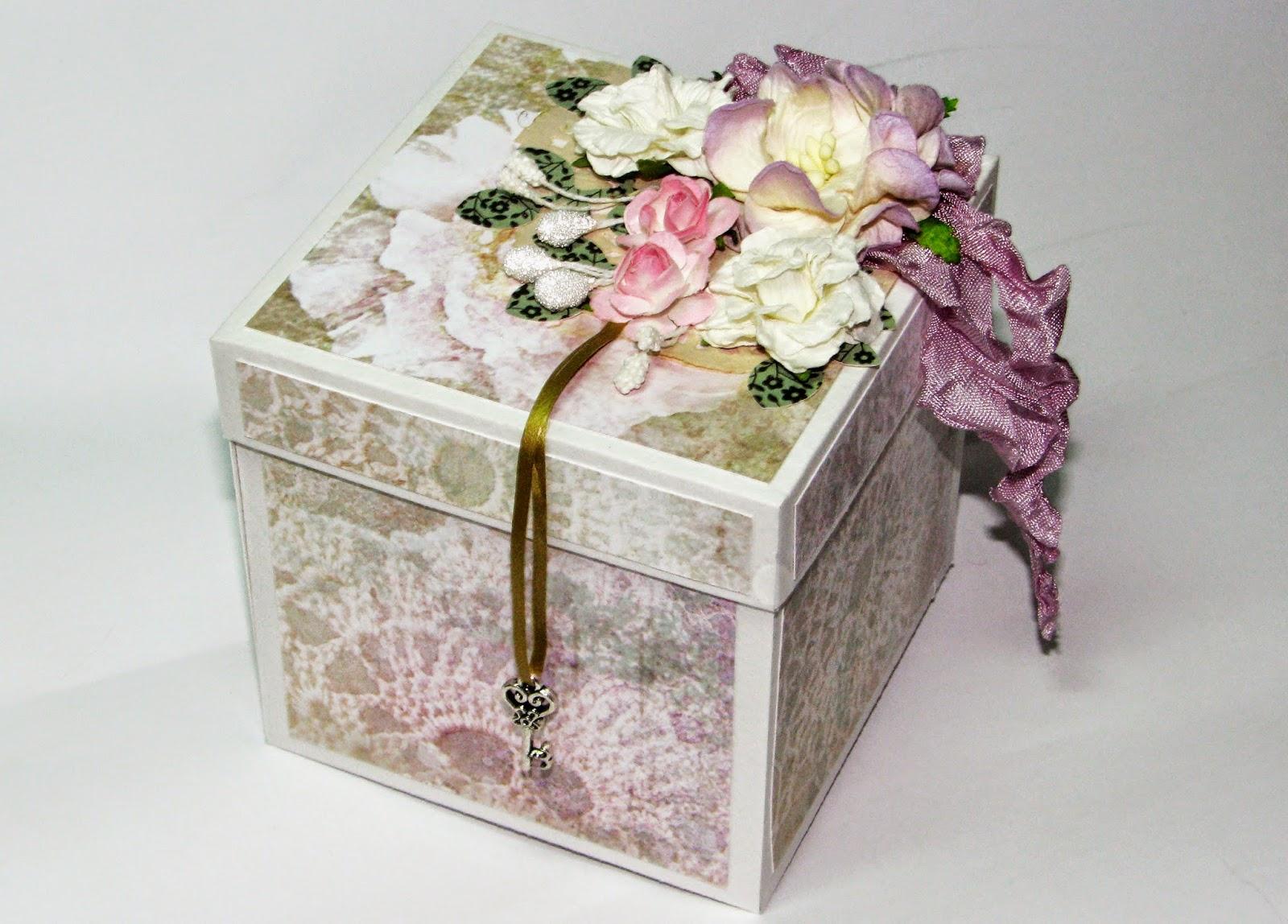 Коробочка для денежного подарка 78