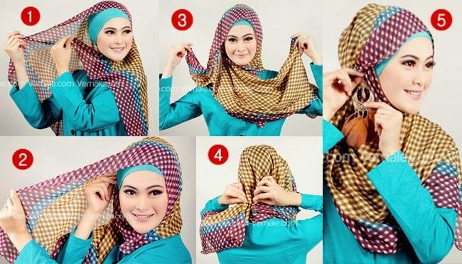 Tutorial Hijab Pengantin | newhairstylesformen2014.com