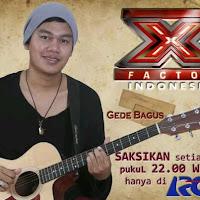 Foto Profil Biodata Gede Bagus X Factor Indonesia