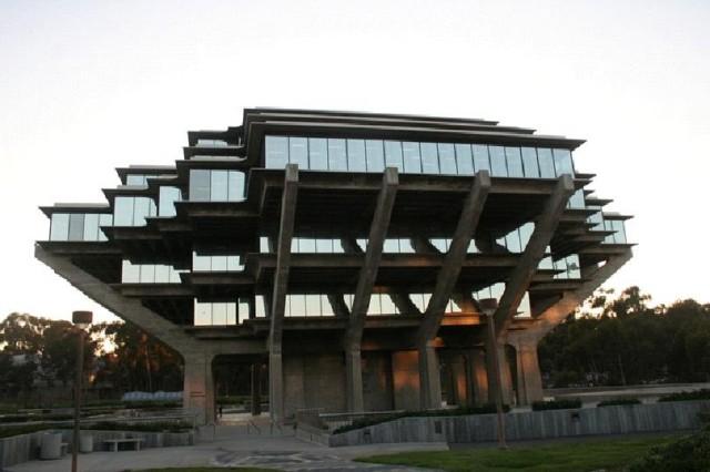 62. UCSD Geisel Library, San Diego, California, United States