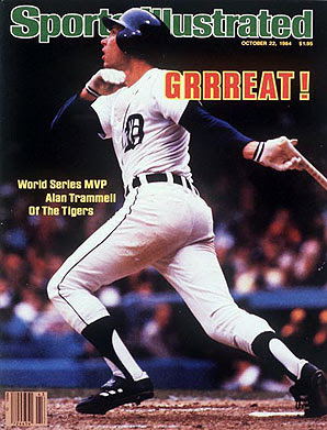 Alan Trammell on the cover of Sports Illustrated