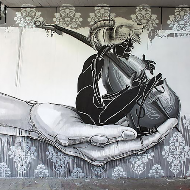 Dome new mural in karlsruhe germany streetartnews for Outlet store karlsruhe