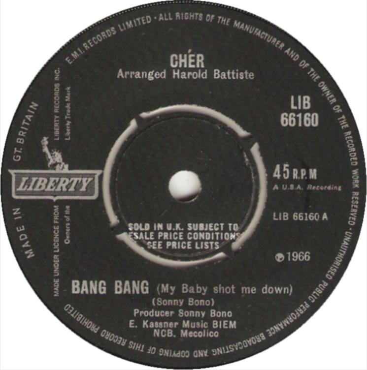 #TBT: Bang Bang - Cher | Ses Rêveries