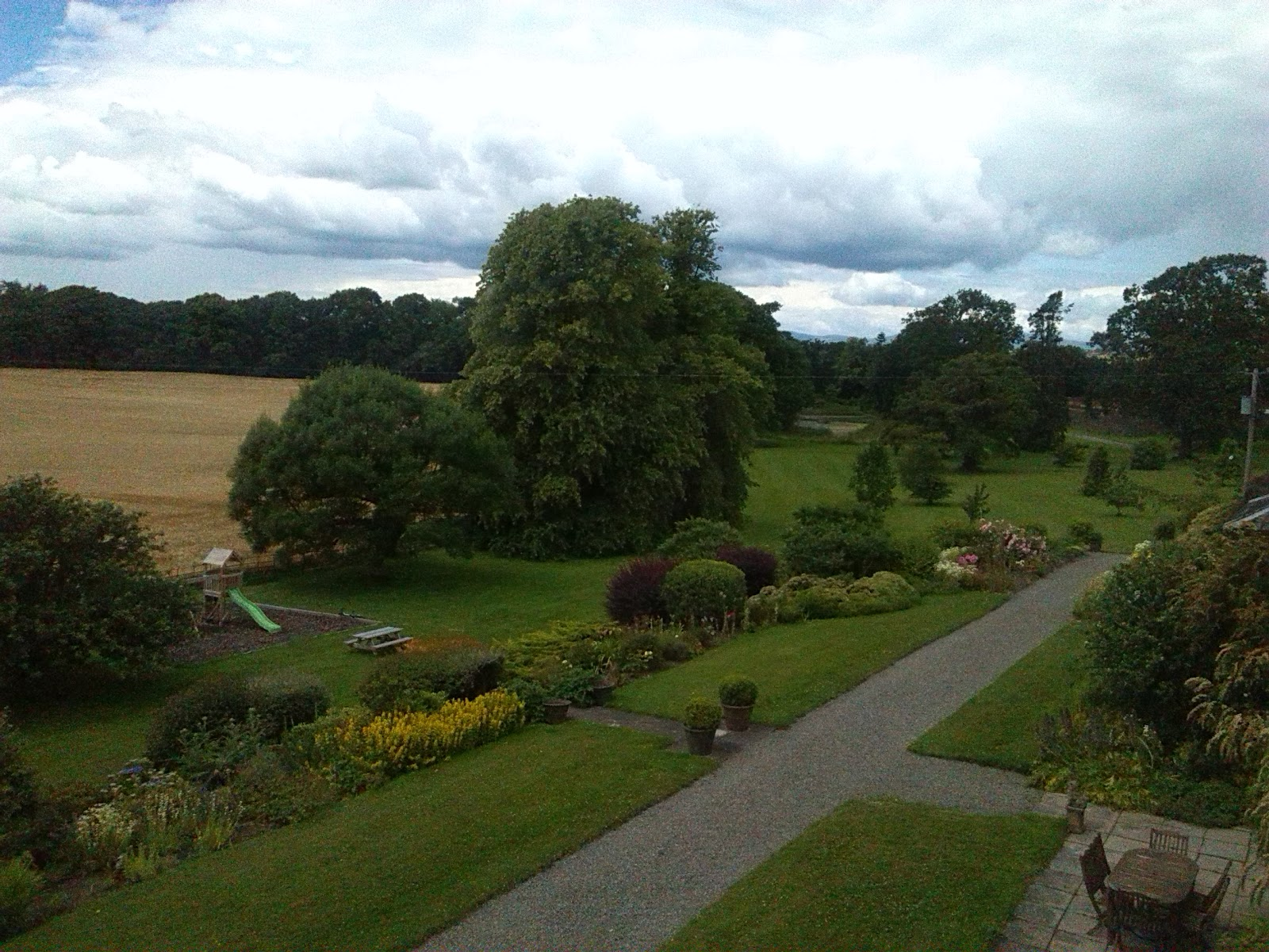 Grounds surrounding Ballinkeele House