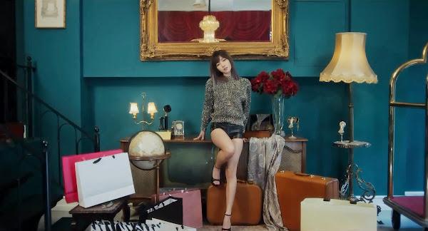 Fiestar's Hyemi (혜미)  in You're Pitiful MV