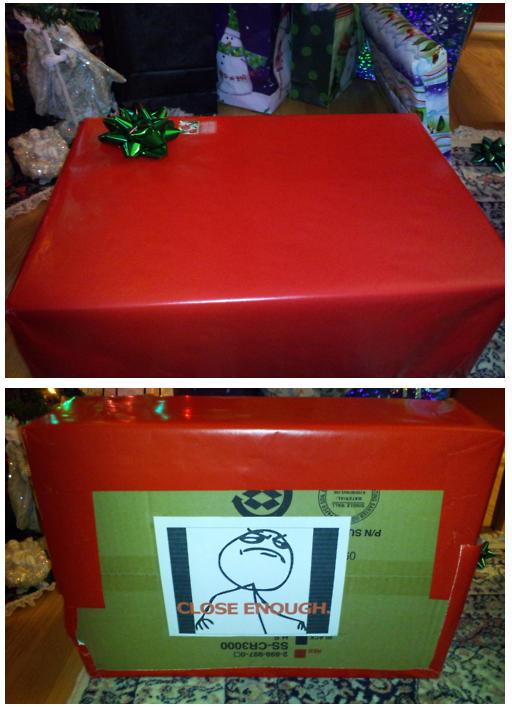 Wrapped Present - Close Enough