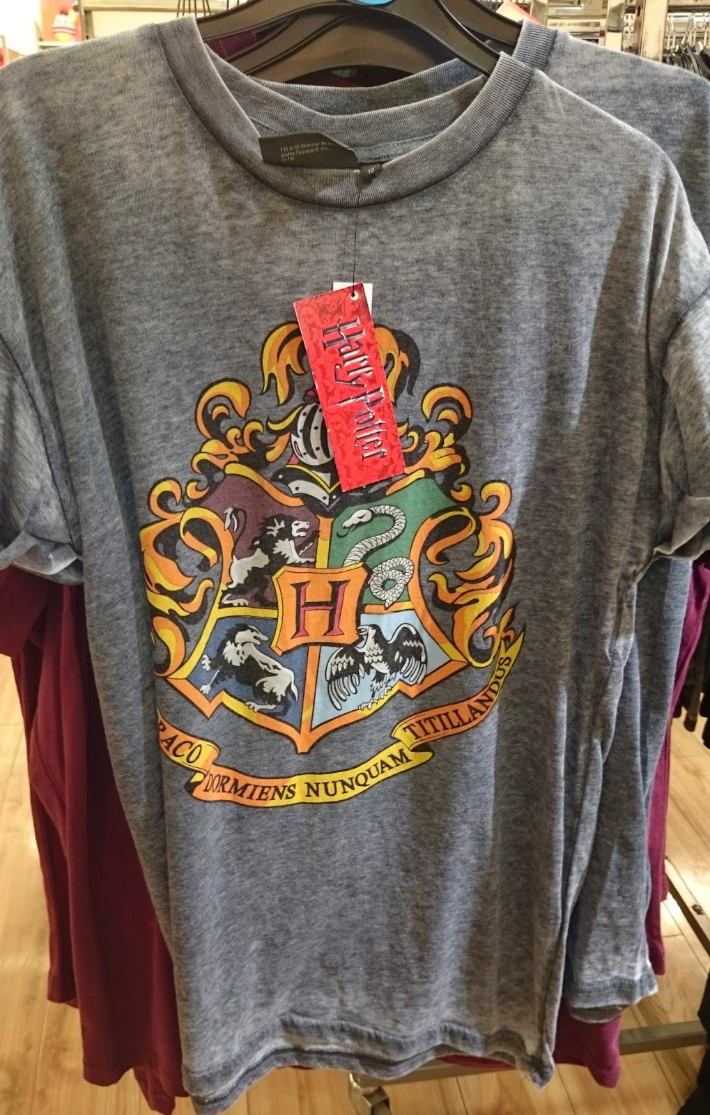 primark wish list harry potter hogwarts jumper tshirt run dmc t shirt