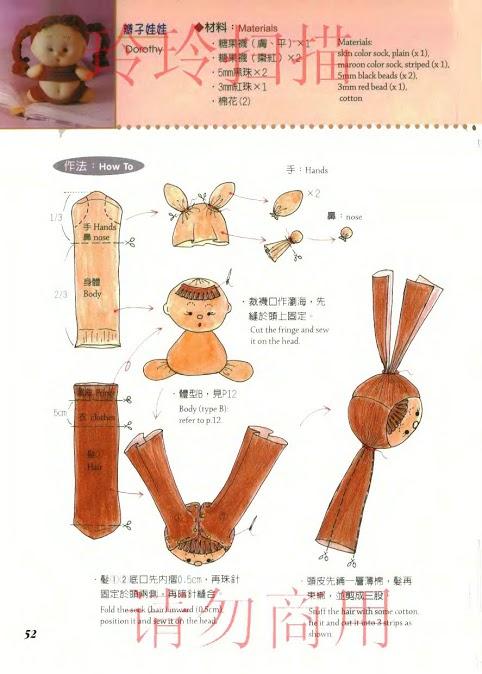 Капроновые куклы своими руками пошаговая инструкция