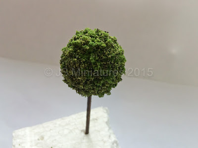 1/12th Scale Topiary Ball Tree
