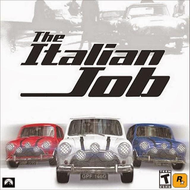 لعبة قيادة السيارات والمهامات الرائعة The Italian Job نسخة كاملة حصريا تحميل مباشر The+Italian+Job