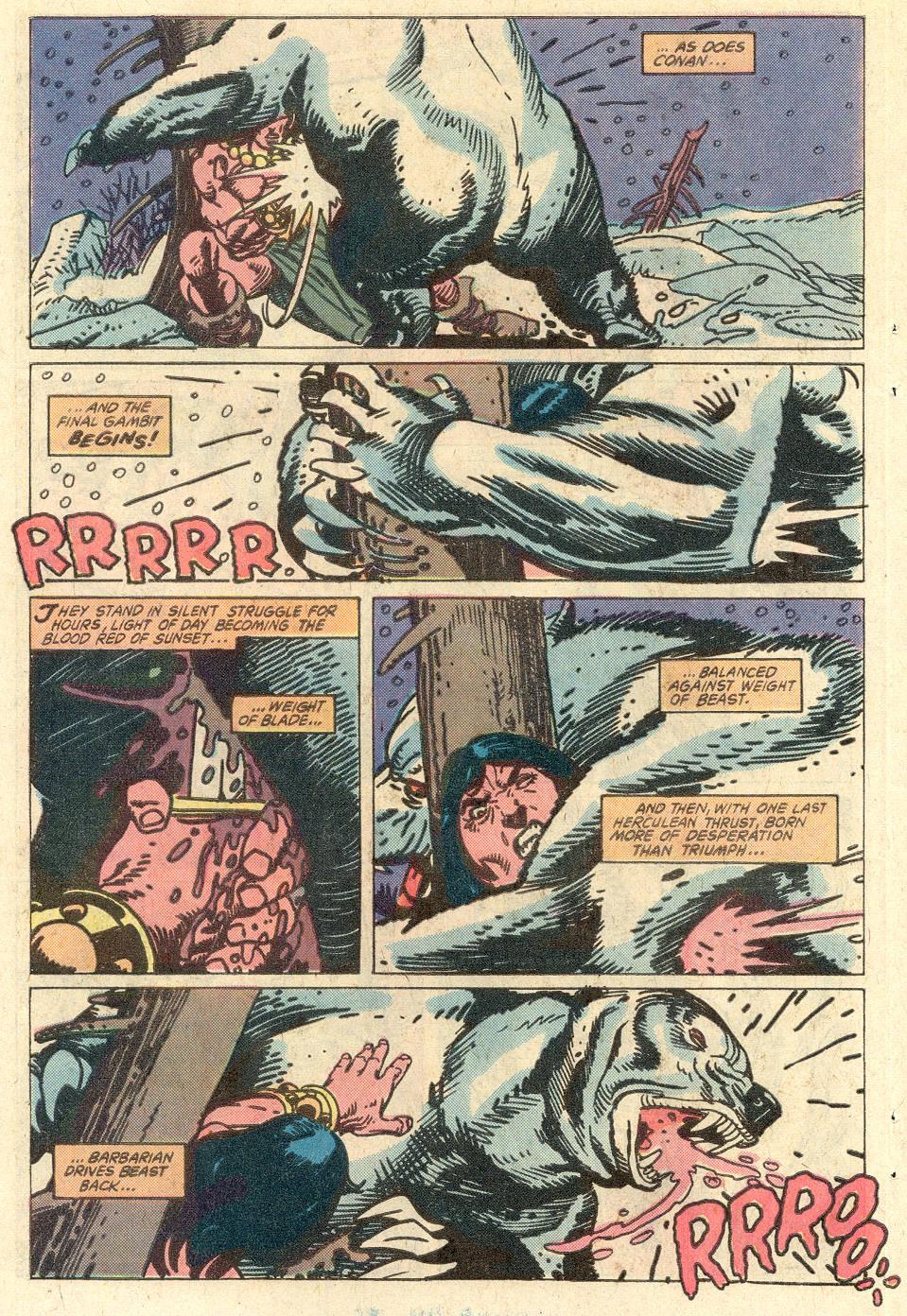 Conan the Barbarian (1970) Issue #127 #139 - English 7