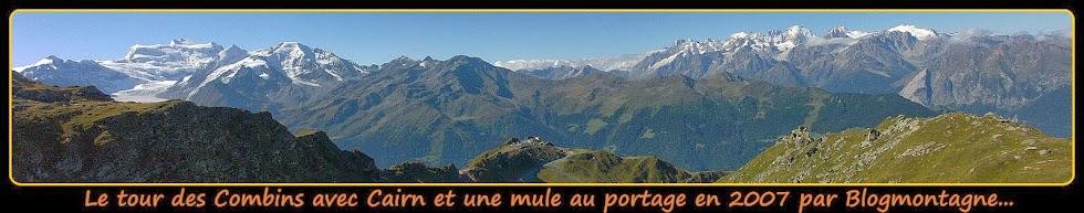 ➽ Le tour des Combins 2007 (Valais) trek en 7 étapes par Blogmontagne ~