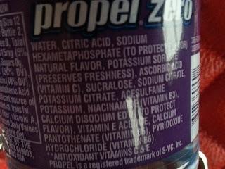 Preservative in soda study