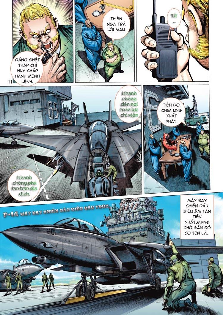 Thần Binh 4 chap 20 - Trang 11