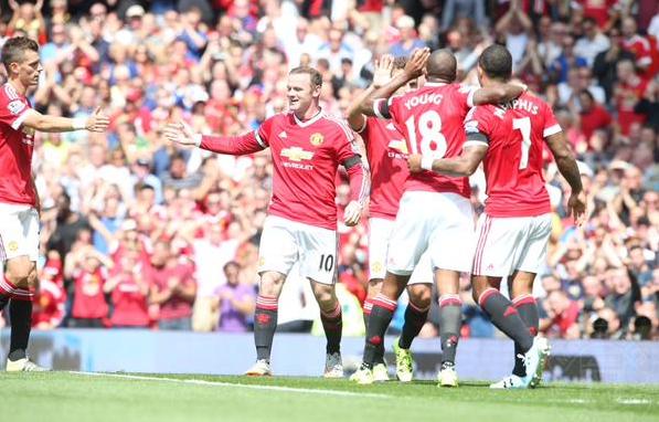 Manchester United 1-0 Tottenham Hotspurs