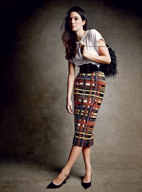 sederhana indoor Foto Top Model wanita cantik Dunia Kendall Jenner