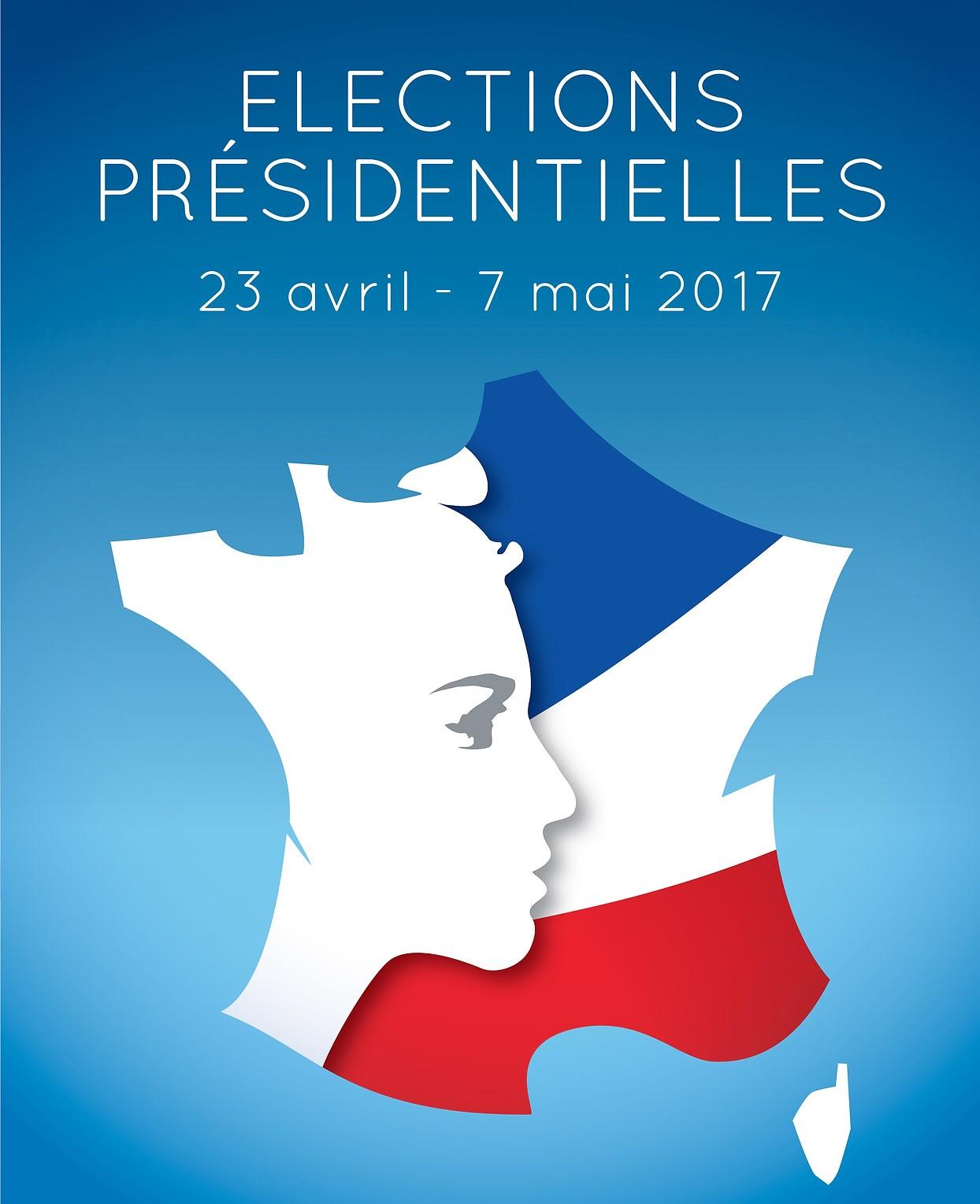 França: 23 de abril e 7 de maio