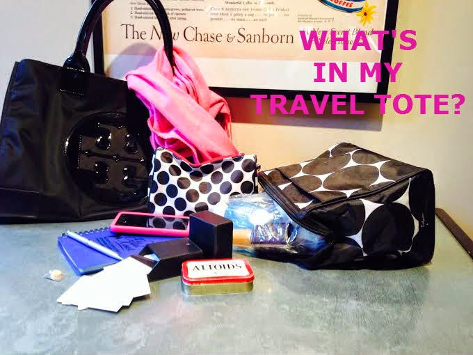 What's in Leigh Hines' Travel Tote