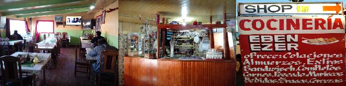 Agradecimiento al Auspicio de la Cocinería EBEN EZER, la Mejor Cocinería de la Comuna.