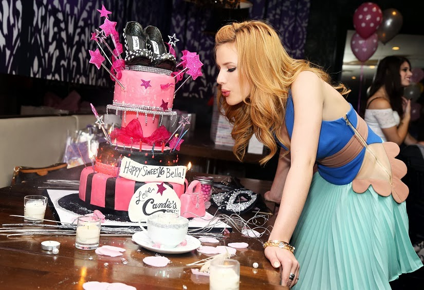 Bella Thorne Celebrates Sweet 16 Birthday Party At The Stk