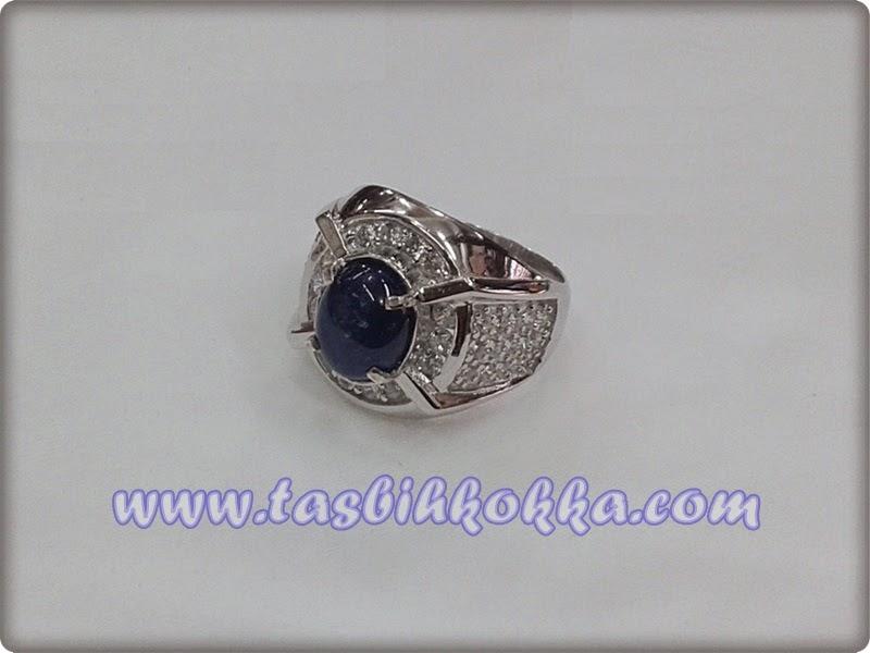 Cincin Blue Sapphire Perak