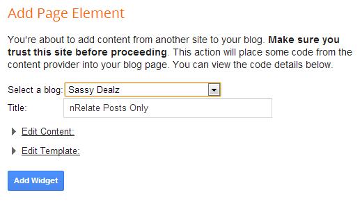blogger related posts widget nrelate