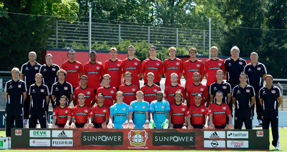 Plantilla Bayer Leverkusen 12/13