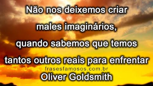 Frase de Oliver Goldsmith